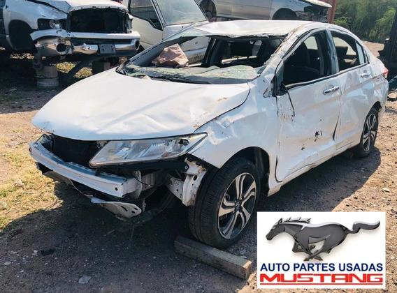 Desarmo En Partes Honda City 2014 1.5l Automatico Yonke Auto