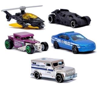 Set Autos Colección Batman Dark Knight De Hot Wheels Adr