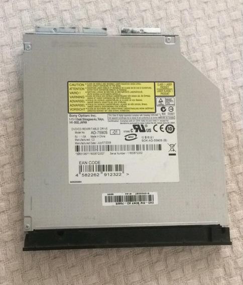 Drive Gravador Dvd Sata Ad-7590s Notebook Cce Win T545p+ #