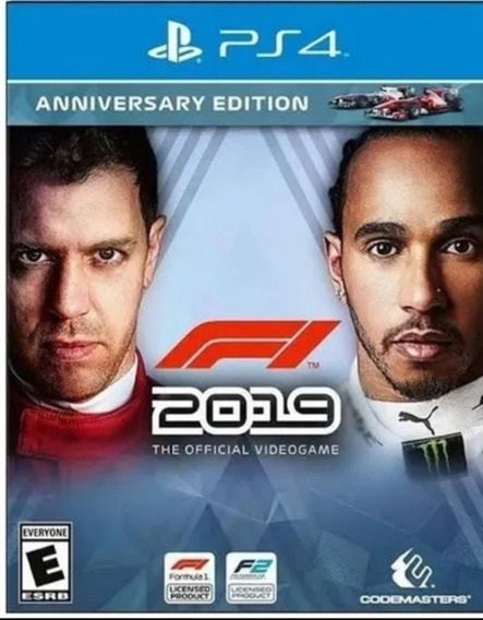 F1 2019 Ps4 Digital1 Original- Jogo Permanente