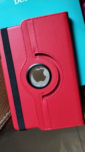 Imagen 1 de 8 de Smart Case Funda Protector Piel Giratoria iPad Mini 4 + Mica