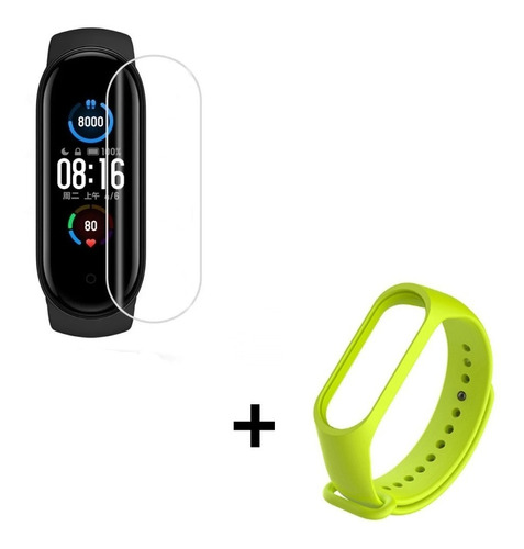 Xiaomi Mi Band 5 Smart Watch Reloj Inteligente + Malla+ Film