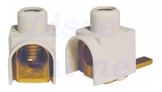 Kit 10 Conector Terminal Genérico 16mm P/ Disjuntor Frontal