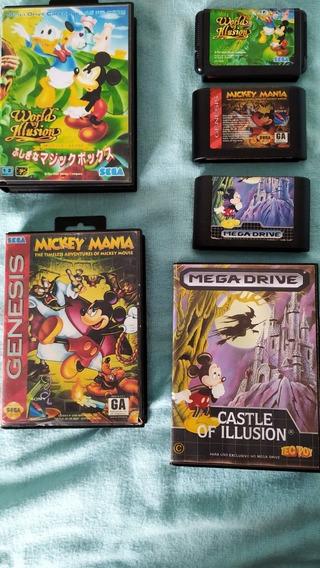 Coleção Mikey Mega Drive Original