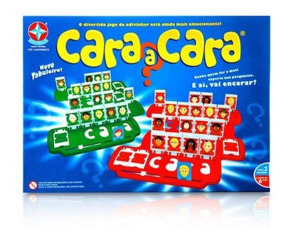 Jogo Cara A Cara Estrela- Ref 1201602900022