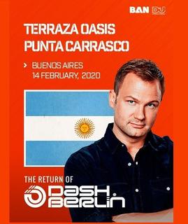 Entrada Dash Berlin - 14-02 Oasis Costanera - Ticketspass