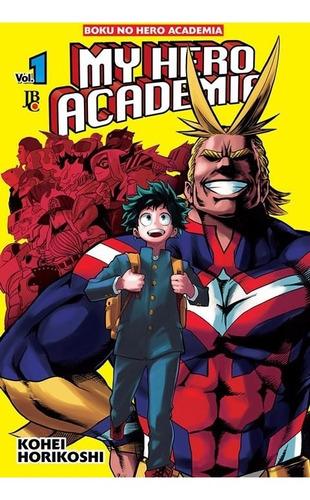 My Hero Academia 1! Mangá Jbc! Novo E Lacrado!