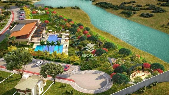 Lote À Venda, 263 M² , Villa Reale, Condomínio Fechado, Financia - Jucurutu - Aquiraz/ce - Te0151