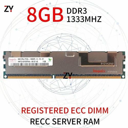 Memória 8gb Ddr3 Pc3l-10600r P/ Servidor Dell Hp Ibm Ecc Reg