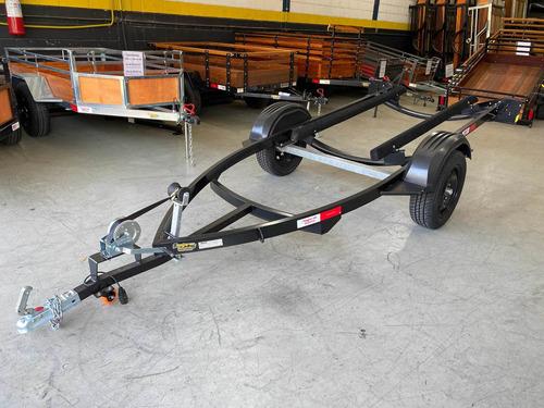 Carretinha Para Jet Ski Preta - Carreta Jet Ski Eixo Torção