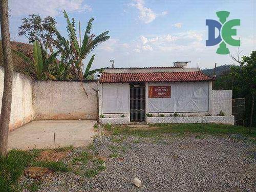 Chácara Com 2 Dormitórios À Venda, 600 M² Por R$ 240.000,00 - Chácaras Condomínio Recanto Pássaros Ii - Jacareí/sp - Ch0023