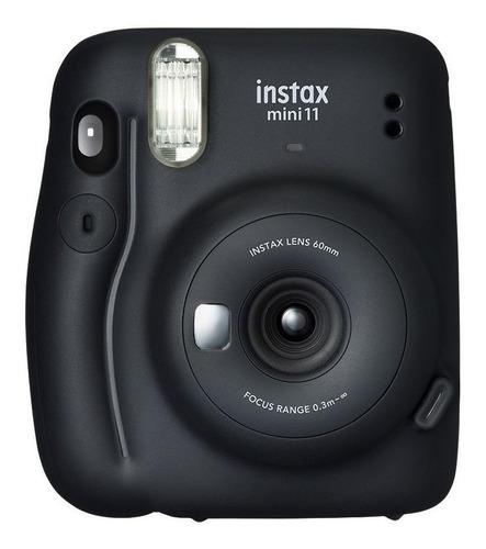 Imagen 1 de 5 de Cámara instantánea Fujifilm Instax Mini 11 charcoal gray