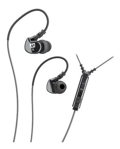 Fone Headphone In-ear Mee Audio Retorno M6p2 Branco E Preto