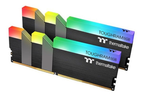 Memoria Ddr4 Thermaltake Toughram 16gb 3200mhz Rgb Mexx 3
