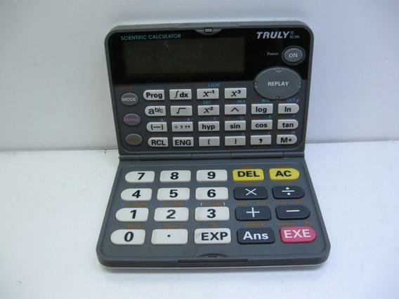 No Estado Calculadora Cientifica Truly Sc185 C/ Defeito