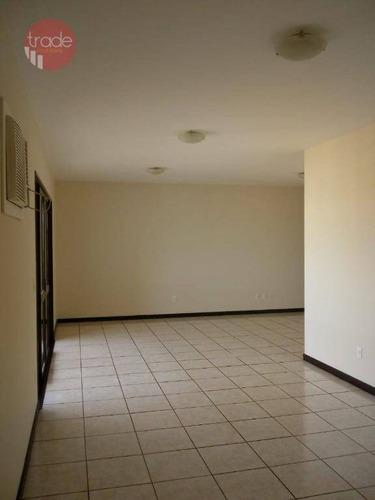 Apartamento Com 4 Dormitórios Para Alugar, 181 M² Por R$ 2.200/mês - Jardim São Luiz - Ribeirão Preto/sp - Ap4376