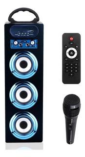 Parlante Portátil Bluetooth 3.0 Aliver Usb Micrófono Control