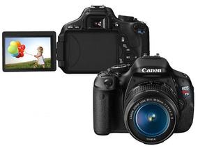 Câmera Digital Canon T3i + Lente 18-135mm + Sd + Acessórios