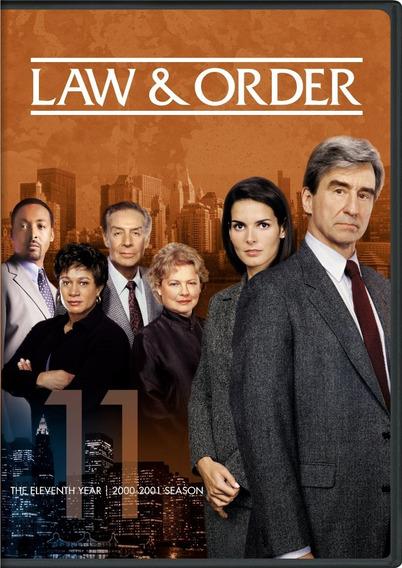 Law & Order 1990 / 1ª A 20ª Temporada Legendadas + Encarte.