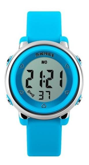Reloj Digital Skmei Para Niño O Niña - Color Azul.