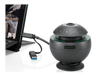 Webcam Lenovo 360° Microfono Usb Voip Videoconferencia