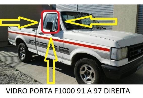 Vidro Porta Ford F1000 92 A 98 Lado Direito