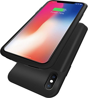 Fiora iPhone X Carcasa De Bateria 6000 Mah Delgado Movil Rec