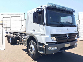 Mercedes-benz 2425 6x2 2010 Cabine Leito Chassis R$102 Mil