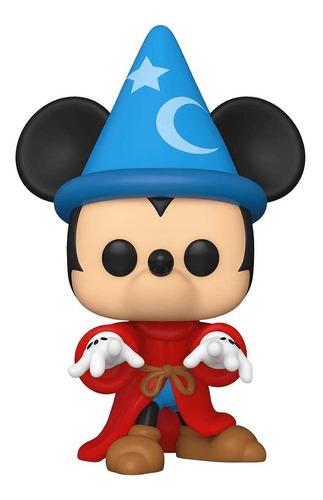 Boneco Funko Pop Disney Fantasia Sorcerer Mickey Mago 990