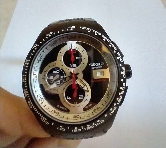 Relógio Swatch Asvg 400 - Vidro De Safira