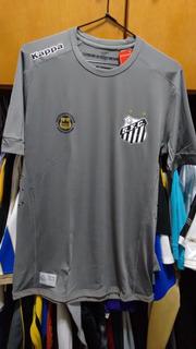 Camisa Santos Kappa 2017 Goleiro Cinza Kombat Original