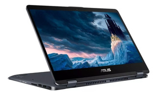 Laptop Asus Flip Tp410ua Intel Core I3 4gb 500gb 14 Touch Wifi Tablet 2 En 1 Windows 10 Home
