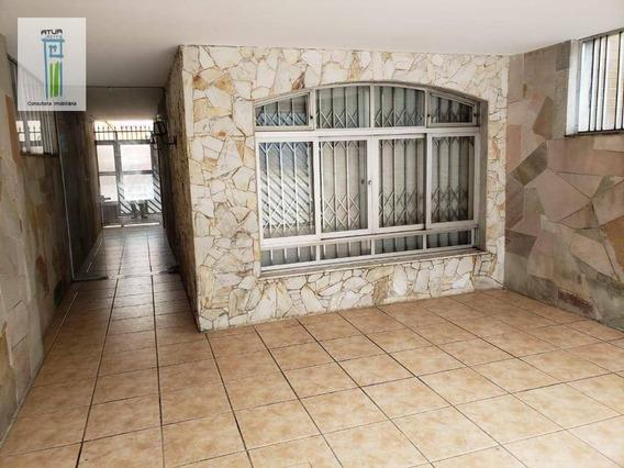 Sobrado Com 3 Dormitórios Para Alugar, 240 M² Por R$ 4.000,00/mês - Jardim São Paulo(zona Norte) - São Paulo/sp - So0380