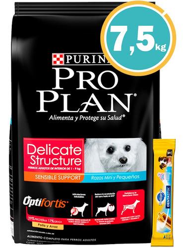 Imagen 1 de 7 de Ración Perro Pro Plan Delicados Pequeños + Obseq Y E. Gratis