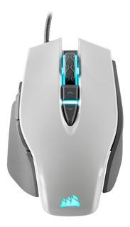Corsair Mouse Gaming M65 Elite Rgb Blanco 18000 Dpi Gamer