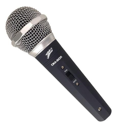 Microfono Dinamico Profesional Con Cable Zebra Dm-605