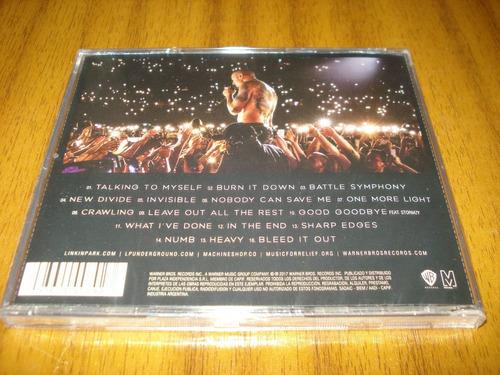 Cd Linkin Park One More Light Live Nuevo Y Sellado Mercado Libre