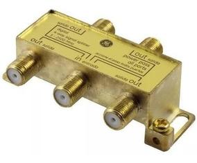 Ge 33527 Splitter Divisor Coaxial 4 Salidas Apto Señal Digit