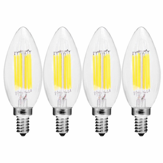 Anxingo 4 pack 3000 k Led Candelabra Foco Vela De Led (inten