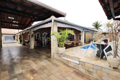 Casa Com 4 Dorms, Gaivotas, Itanhaém - R$ 429.900,00, 220m² - Codigo: 240 - V240