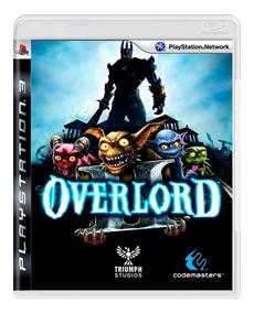 Overlord 2 Ps3 Mídia Física + Pôster Brinde