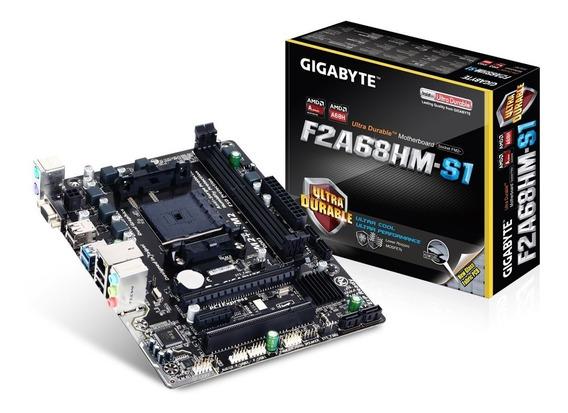 Kit Upgrade Gamer A6 7480 + Gigabyte Fm2 + R5 Rad + 4gb Novo