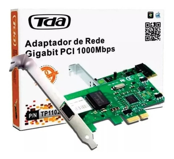 Placa Rede Pci-e 10/100/1000mbps | Tp1103pe | Tda