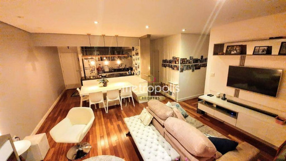 Apartamento Com 3 Dormitórios À Venda, 100 M² Por R$ 770.000,00 - Santa Maria - São Caetano Do Sul/sp - Ap4132