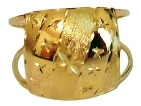 Anel Artesanal Ouro 18k Minas Gerais