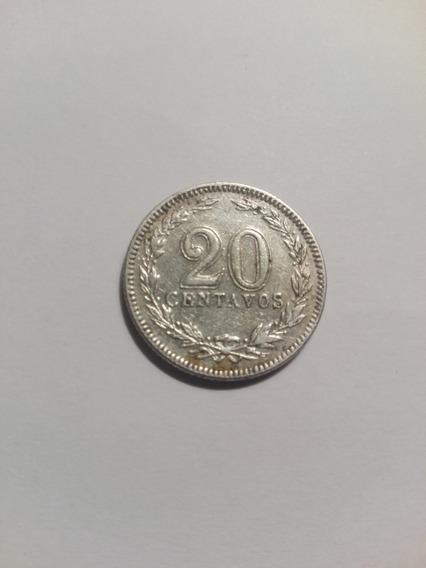 Moneda Argentina 20 Centavos 1941