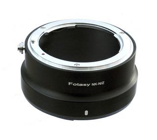 F Montaje De Lentes Nikon Z6 Z7 Cámara Sin Espejo Adaptador