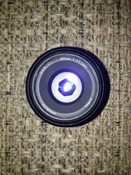 Minolta Af 50mm 1.7 (mount Sony A)