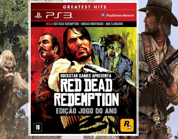 Red Dead Redemption + Undead Ps3 Psn - Midia Digital