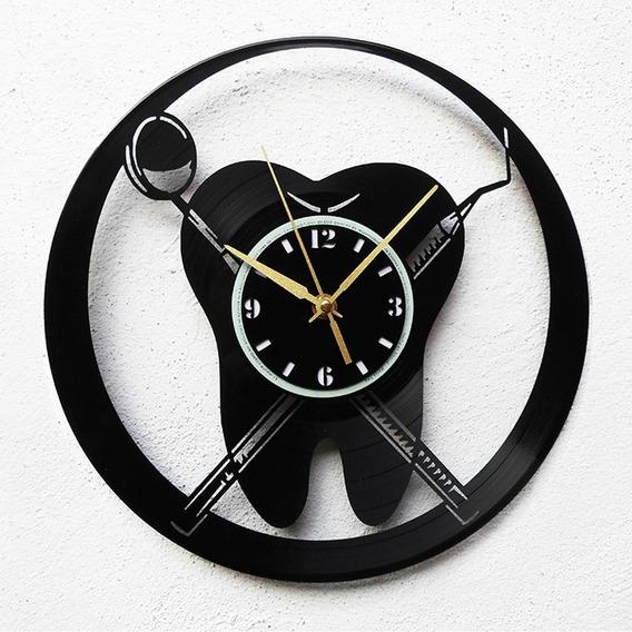 Reloj Vinilo Moderno Reloj De Pared En Mercado Libre Mexico